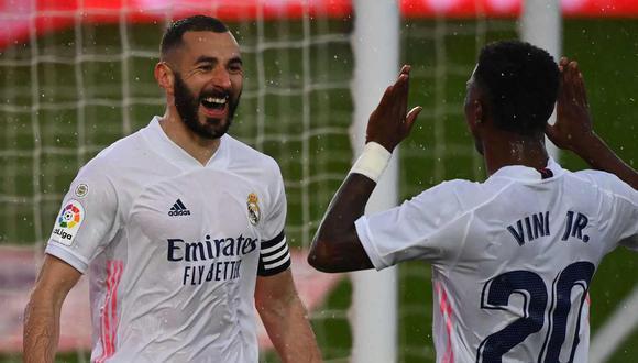 Real Madrid no consiguió ningún título en la temporada 2020-21. (Foto: AFP)