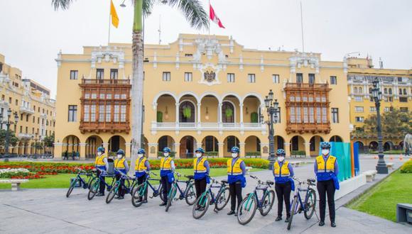 La Municipalidad de Lima presentó al Escuadrón Ciclista de mujeres en el Día Mundial sin Auto. (Foto: MML)