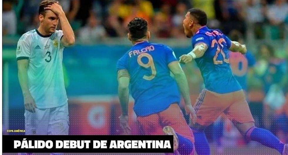 Prensa argentina disparó contra Lionel Messi tras derrota ante Colombia en la Copa América | FOTOS