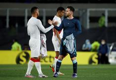 """Trauco tras quedarse con la camiseta de Messi: """"Es un orgullo tenerla"""""""
