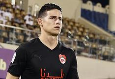James Rodríguez sufrió dura goleada en su estreno con Al-Rayyan   VIDEO