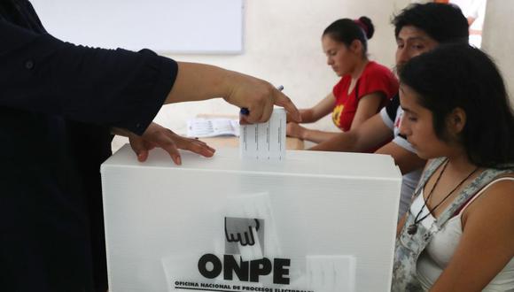 Los miembros de mesa ya se alistan para estar a cargo de todos los votantes en las próximas Elecciones Generales 2021.