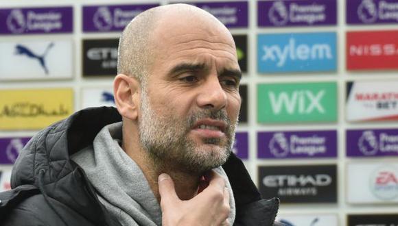 Pep Guardiola y la crítica por la falta de descanso tras empatar con Southampton. (Foto: AFP)