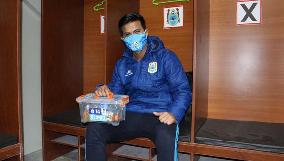 Anthony Osorio se refirió a los casos positivos de coronavirus en Binacional. (Foto: Facebook)