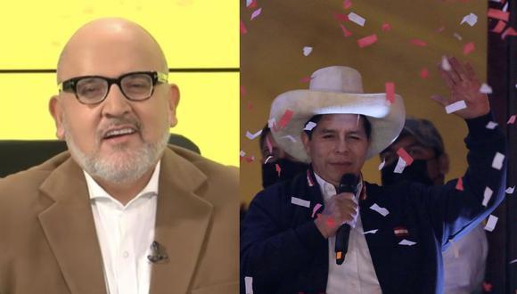 El conductor de Willax Televisión se encuentra en México, tuvo una entrevista con una periodista extranjero en donde describió a Pedro Castillo de la peor manera.