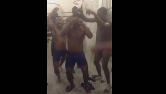 Jugadores de selección ecuatoriana se relajan con divertido baile [VIDEO]