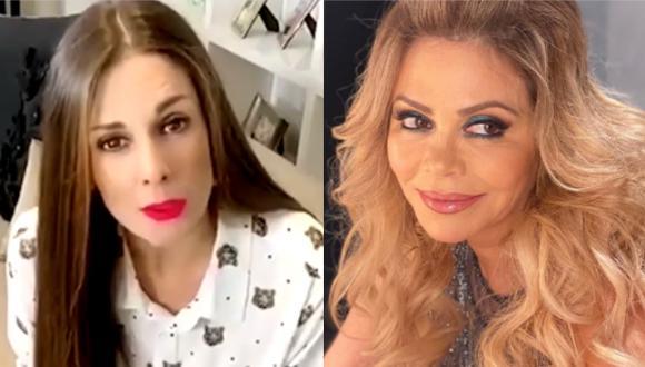 Rebeca Escribens se solidariza con Gisela Valcárcel por fallecimiento de su hermana (Foto: Instagram)
