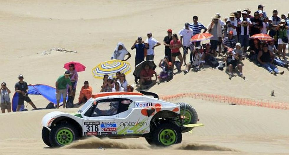 Dakar 2018 rompe fuegos en Lima en su primera etapa hacia Pisco