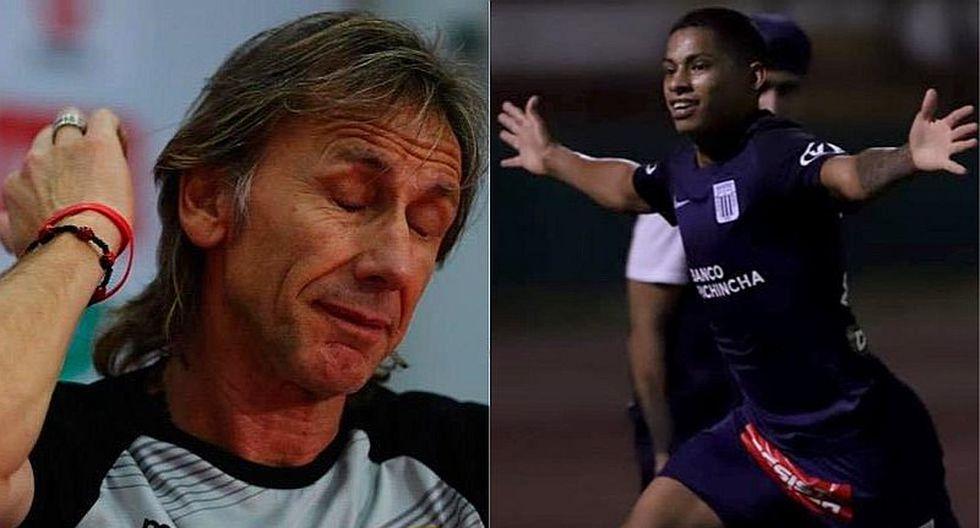 El mensaje de Kevin Quevedo a Gareca tras doblete con Alianza Lima