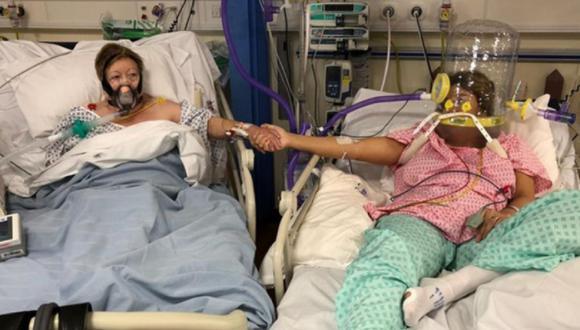 Ellas ingresaron juntas a un hospital tras contagiarse de COVID-19 y la madre se quitó el oxígeno para despedirse.