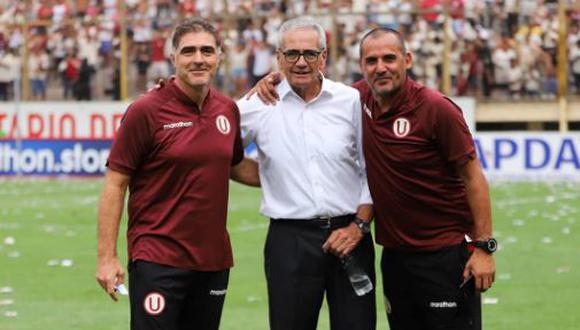 Daniel Curbelo se despidió de Universitario con una foto del clásico ante Alianza Lima. (Twitter)