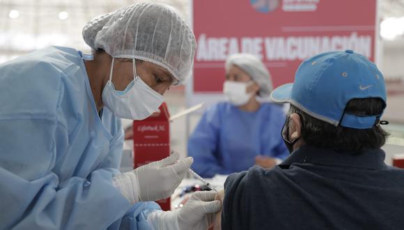 Vacunación contra el coronavirus se realiza en todo el país (Foto: GEC)