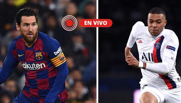 PSG - Barcelona; ONLINE EN DIRECTO: octavos de la Champions