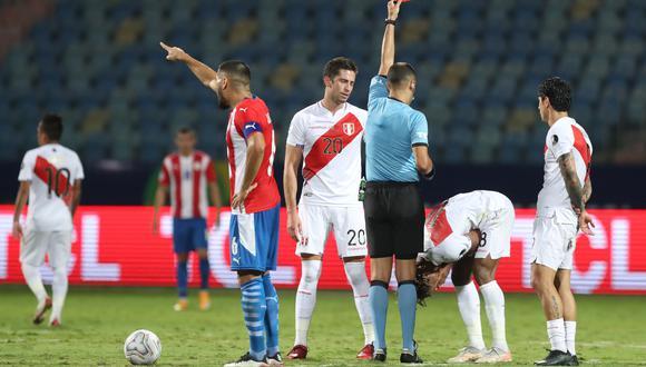 Periodista Horacio Zimmermann criticó la expulsión del extremo de la selección peruana por los cuartos de final de la Copa América Brasil 2021.