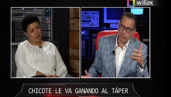 Martha Moyano habló sobre el futuro del país y la Segunda Vuelta entre Pedro Castillo y Keiko Fujimori.  (Captura Willax)