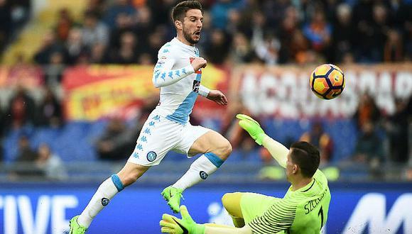 Napoli vence a AS Roma (1-2) y lo deja sin chances en la Serie 'A' (VIDEO)