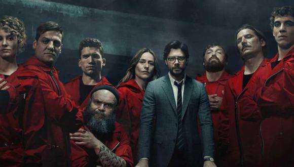 """La banda del Profesor prepara el cierre de su mayor golpe en """"La casa de papel"""" (""""Money Heist""""). Foto: Netflix."""