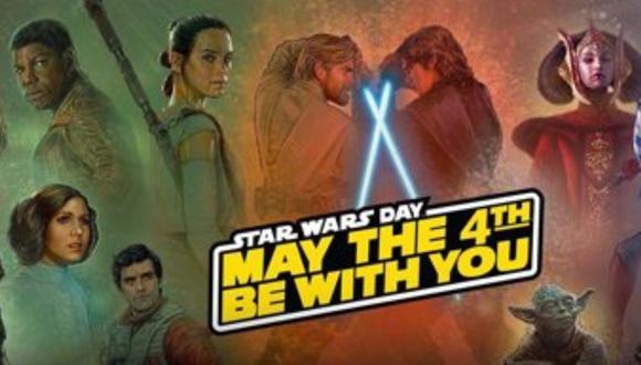 Este 4 de mayo se celebra el Día de Star Wars y aquí te contamos por qué los fans de la saga festejan en esta fecha.