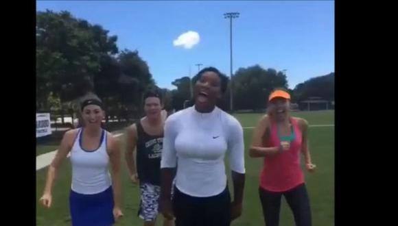 Wimbledon 2015: Serena Williams se divierte con clásico musical del cine [VIDEO]