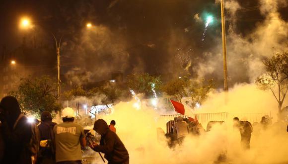 El Minsa especificó que un total de 207 ciudadanos fueron atendidos por distintos tipos de lesiones producidas durante las manifestaciones en Lima Metropolitana y algunas regiones del país. (Foto: Giancarlo Ávila / GEC)