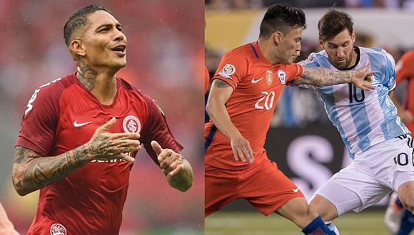 Paolo Guerrero jugaría en Inter al lado de este crack de la Selección de Chile