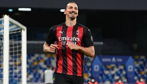 Zlatan Ibrahimovic se quedará una temporada más en el Milan. (Foto: AFP)