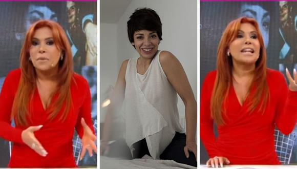 Magaly Medina criticó nuevamente a Tatiana Astengo por su mensaje en Twitter. (Foto: Instagram @tatianaastengob / Captura ATV)