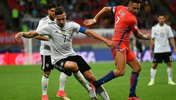 Alemania y Chile a un paso de la clasificación
