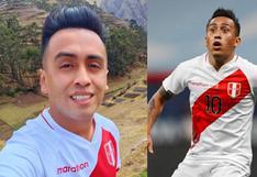 Hinchas peruanos se desquitan con imitador de Christian Cueva tras derrota contra Bolivia   FOTO