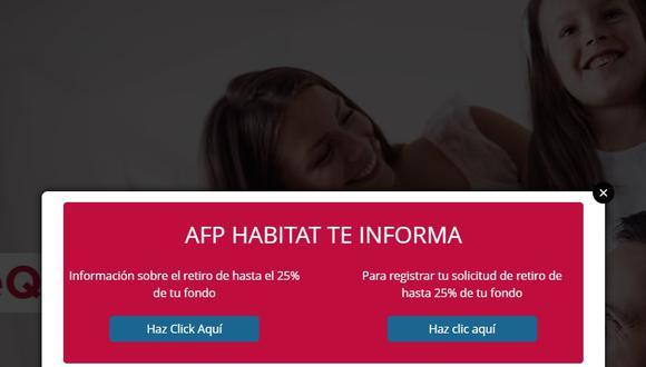 AFP Habitat [Retiro del 25%] Hoy 2 de junio: Cómo, cuándo y dónde realizar el registro de solicitud de acuerdo al cronograma