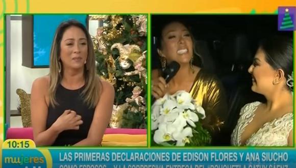Cathy Sáenz llora tras ser insultada en redes sociales (Foto: captura video)