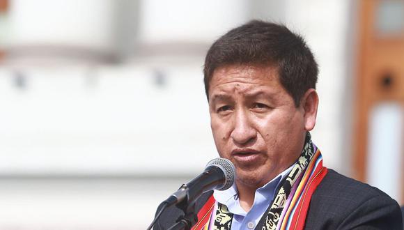 Guido Bellido descartó que la campaña de Perú Libre se haya financiado con fondos ilícitos. (Foto: Andina)