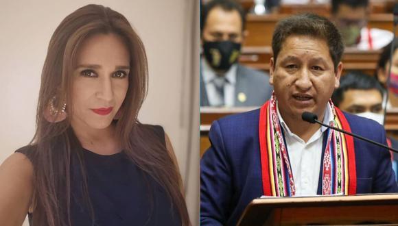 """Verónica Linares arremete contra Guido Belllido por decirle a Patricia Chirinos """"solo falta que te violen"""". (Foto: Composición)"""