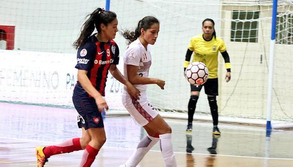 UNMSM cayó 2-0 en debut de Copa Libertadores de futsal femenino