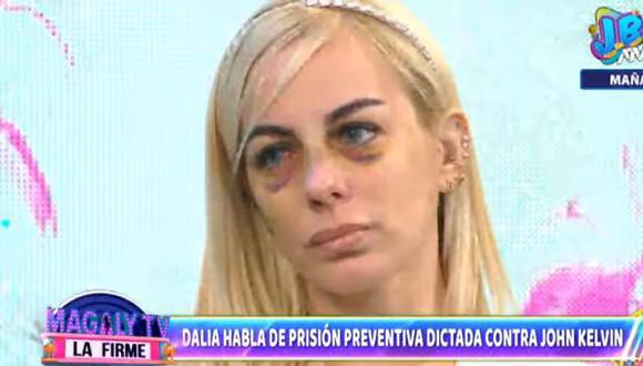 """Dalia Durán desea irse a otro país con sus hijos: """"Quedarme aquí no es una buena opción"""". (Foto: captura de video)"""