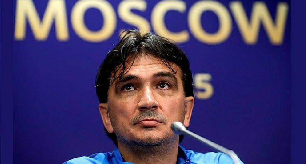 Zlatko Dalic pone en duda su permanencia como DT de la selección de Croacia