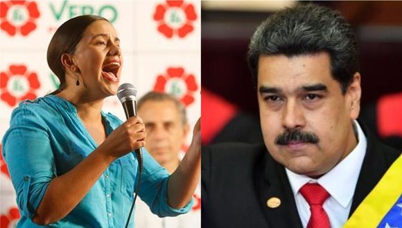 """Además, Verónika Mendoza aseguró que """"el rol  del Grupo de Lima no ha sido el más eficaz""""."""