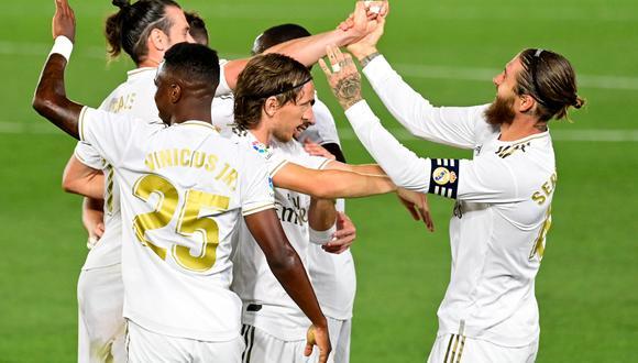 El Real Madrid responde al Barcelona y recupera el liderato (FOTO: AFP)