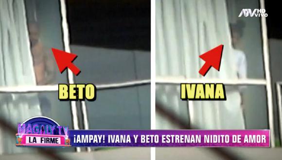 Ivana Yturbe y Beto Da Silva viven juntos en plena cuarentena. (Foto: Captura 'Magaly TV: La Firme')