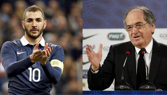 El polémico mensaje de Benzema en respuesta a la Federación de Francia