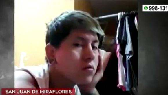 Sujeto acusado de violación trabaja en el local donde brindan servicio de tatuajes y colocación de piercing en San Juan de Miraflores. (Captura: América Noticias)