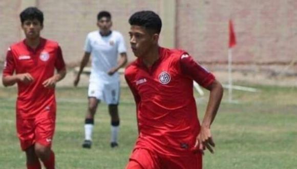 Acha Pérez integró la plantilla del equipo de reserva del Juan Aurich, también jugó en el River Pacora, entre otros. Foto: Facebook/Ariana Quintana