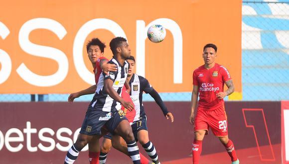 Alianza Lima empató ante Sport Huancayo en su último partido. (Foto: Liga 1)