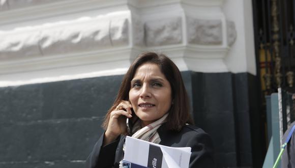 Patricia Juárez defendió planteamiento para indultar a Alberto Fujimori. (Foto: Piko Tamashiro / Grupo El Comercio).