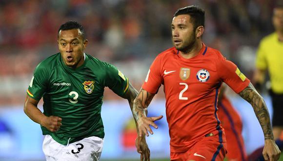 Chile y Bolivia se enfrentan este viernes en el estadio El Teniente de Rancagua. (Foto: AFP)