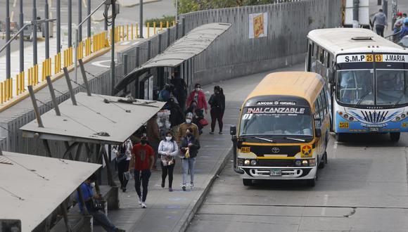 El transporte público sí podrá circular los domingos en Lima y Callao. (Fotos Violeta Ayasta / @photo.gec)
