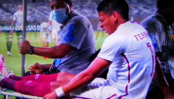 Pacheco no llegó a destacar en la fecha 16 del Brasileirao. (Foto: Captura Globo)