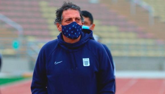 Mario Salas continúa resolviendo su situación. (Foto: Liga 1)
