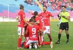Cienciano venció 5-2 a Deportivo Llacuambamba y ya es líder del Torneo Apertura