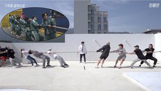 Youtuber surcoreano pone a prueba la estrategia de la cuerda de la serie de Netflix 'El juego del calamar'